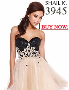 Buy Shail K short dress 3945 at Prom Dress Shop