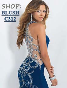 Shop Blush C312 at Prom Dress Shop