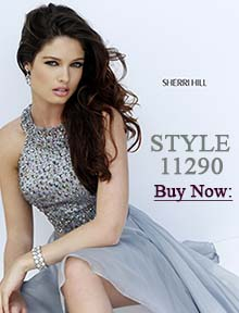 Shop Sherri Hill homecoming dress 11290