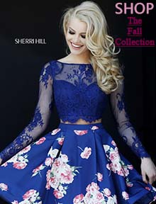 Shop the Sherri Hill fall collection at Prom Dress Shop