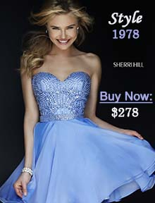 Buy Sherri Hill homecoming dress 1978