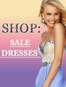 Shop Sale Dresses at Prom Dress Shop