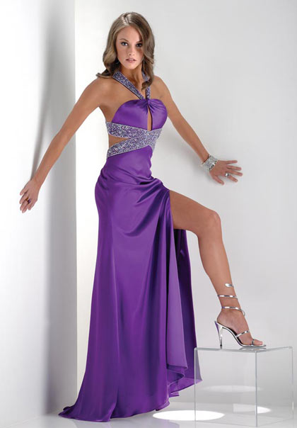 The Best Purple Prom Dresses 2011